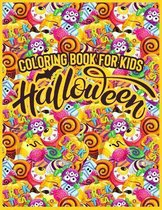 Coloring Book For Kids - Halloween