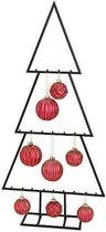 Kerstboom - Zwart Metaal Scandinavië - 77 cm hoog
