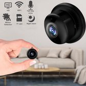 NARVIE Camera - Beveiligingscamera - Mini Camera - Verborgen Camera - Babyfoon - Smart Camera - 1080P HD - WiFi Camera - Met Mobiele App - Incl. 32GB Geheugenkaart