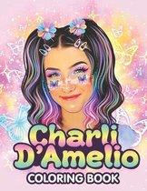 Charli D'Amelio Coloring Book