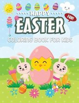 Fun Happy Easter Coloring Book For Kids