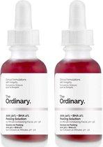 The Ordinary -  AHA 30% Peeling Solution - 2 STUKS - Gezichtspeeling - Hyperpigmentatie - DUO PACK
