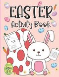Easter Activity Book For Kids Ages 4-8