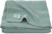 Jollein Wiegdeken Basic knit - 75 x 100 cm - Forest Green