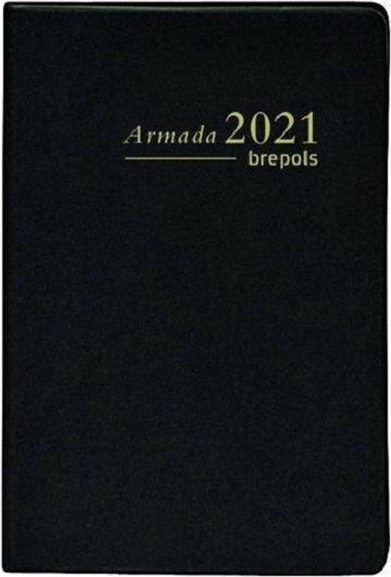 Afbeelding van Brepols Armada 2021 Agenda - ZAK FORMAAT - 10.5 x 7.5 cm - Zwart