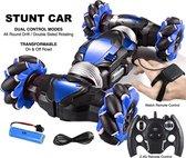 RC Stunt Car | Blauw | Hyper 4WD Twist | RC Auto Offroad | Stunt Auto | Radiografisch Bestuurbare Auto | Voor Binnen en Buiten | New Version 2021