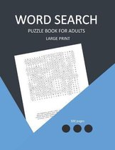 word search puzzle book for adults large print