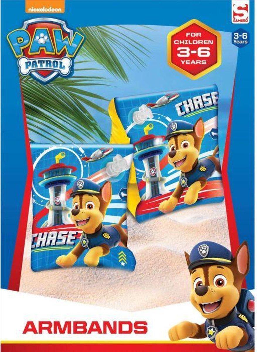 Zwembandjes Paw Patrol Chase, 3-6 jaar