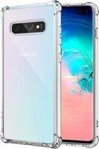 samsung s10 plus hoesje shock proof case - Samsung galaxy s10 plus hoesje shock proof case hoes cover transparant