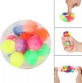DNA Stress Ball - Fidget toys - Stressbal orbeez - Fidget - Squishy - Stressvermindering - Regenboog