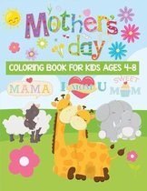 mother's day coloring book for kids ages 4-8