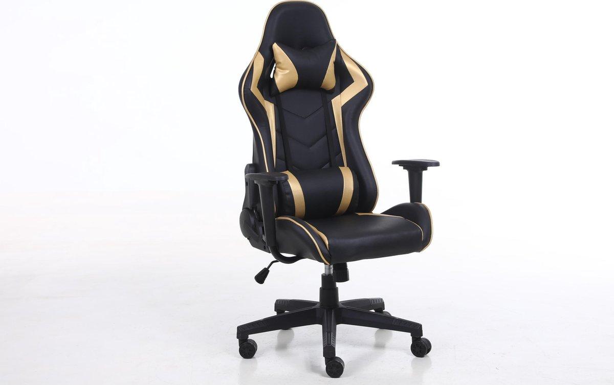 Alora Gamestoel Monaco Goud - Bureaustoel - gamingchair - gaming chair - gamingstoel - game stoel -