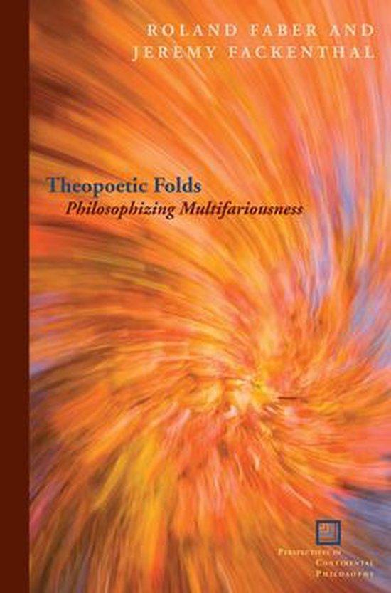 Boek cover Theopoetic Folds van Jeremy Fackenthal