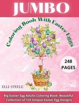 Jumbo Coloring Book With Easter Eggs