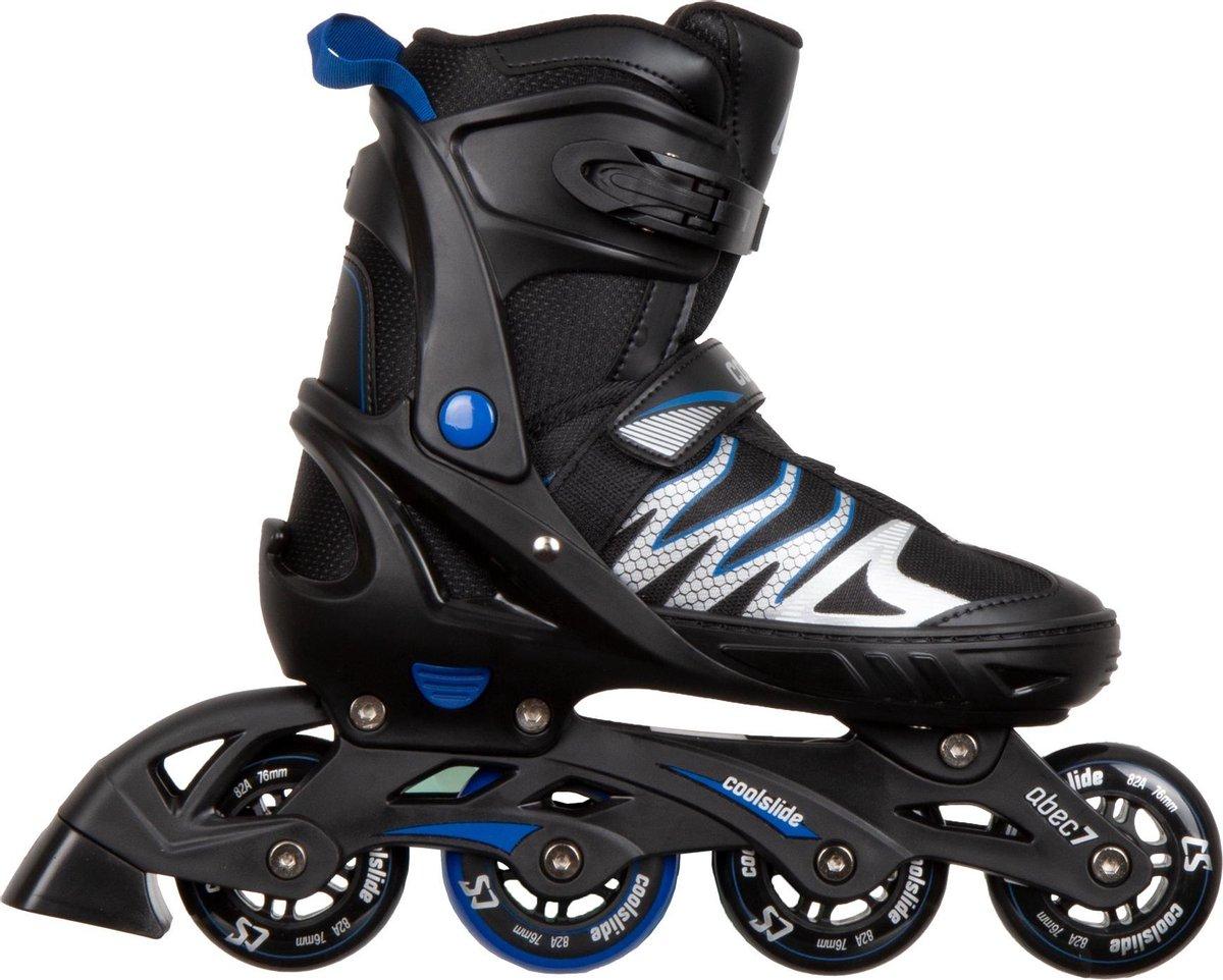 Coolslide Ramen Inline Skate Inlineskates - Maat 37-40 - Unisex - zwart/blauw/wit