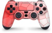 Playstation 4 Controller Skin Cells Rood Sticker