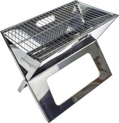 EASTWALL Draagbare Barbecue - BBQ - RVS