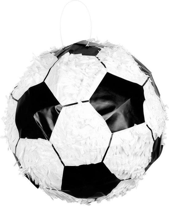 Boland - Decoratie > Feest spelletjes - Voetbal piñata - 30x30cm