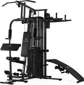 Klarfit Ultimate Gym 5000 multifunctioneel Fitness-Station - Krachstation - Krachttraining -  50 verschillende oefeningen