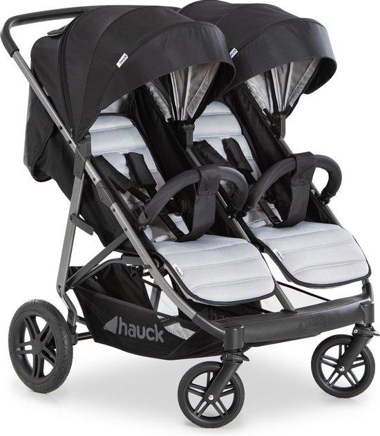 Hauck Rapid 3R Duo Kinderwagen - Silver/Charcoal