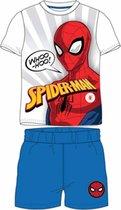 Spiderman pyjama - maat 98 - Spider-Man shortama - blauw
