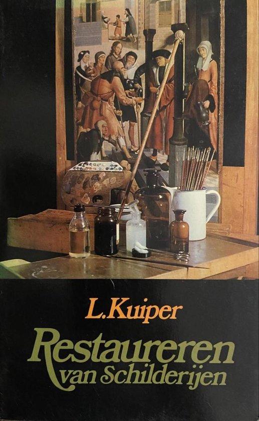 Boek cover Restaureren van schilderijen van Kuiper (Paperback)