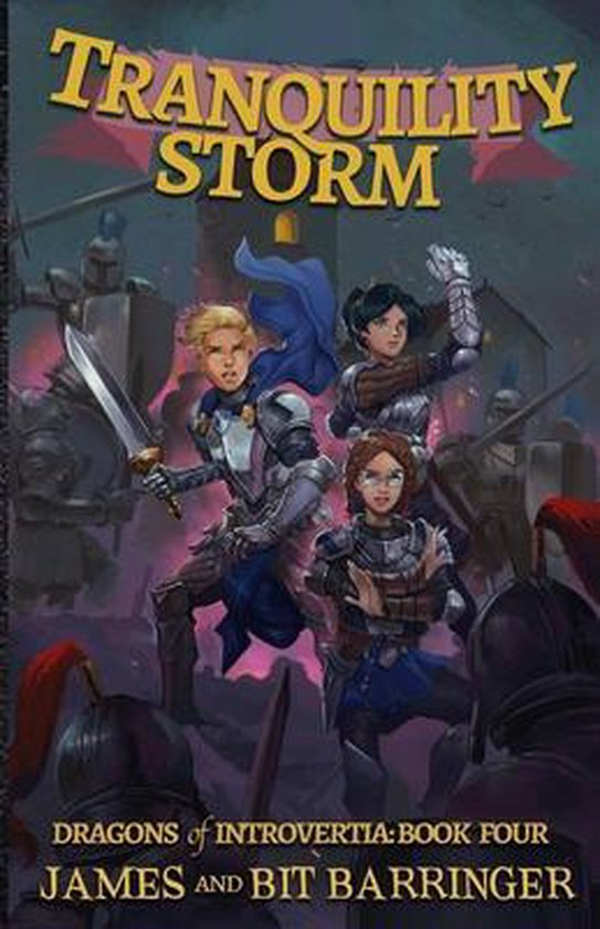 Tranquility Storm (Dragons of Introvertia Book 4)