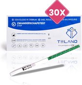 Telano Zwangerschapstest 30 stuks Vroeg Dipstick - Strip Gevoelig