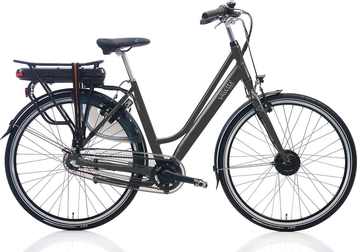 Villette le Plaisir elektrische fiets met Nexus 3 naaf, coal grey, 54 cm, 10,4 Ah accu