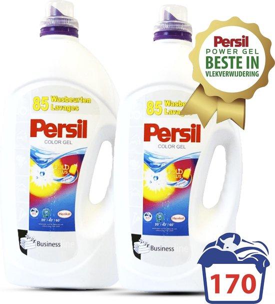 Persil ® Color Gel - 11,2 L - XXL Voordeelverpakking - 170 Wasbeurten - Goedkoopste Per Wasbeurt - Persil wasmiddel - Wasmiddel - Wasverzachter - Wasmiddel Voordeelverpakking - Vloeibaar wasmiddel