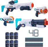 ZURU X-Shot Pijltjes Pistool - Ultimate Shootout Pack - Blaster (4 Pistolen, 72 Darts, 6 Blikjes)