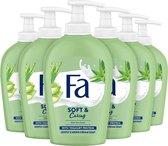 Fa Liquid Soap handzeep Aloe Vera 6x 250ml - Voordeelverpakking