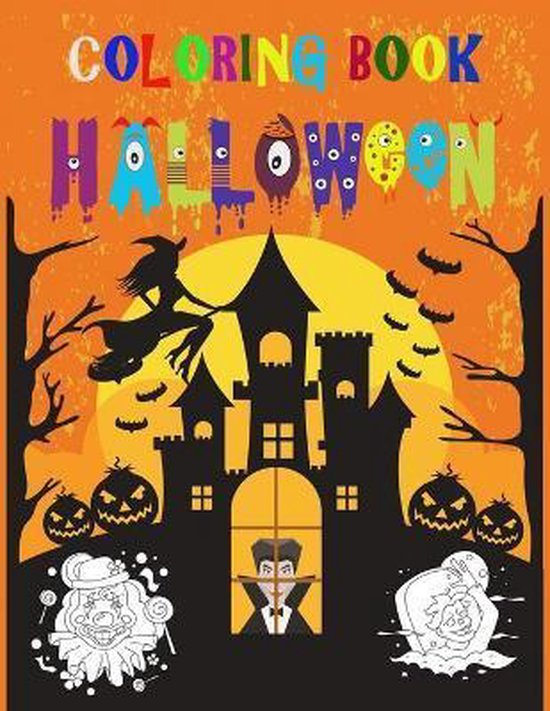 Coloring Book Halloween: Coloring Book for Kids