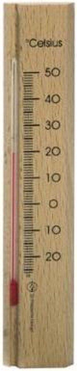 Dr.F thermometer hout 15cm luxe