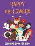 Happy Halloween - Coloring Book for Kids