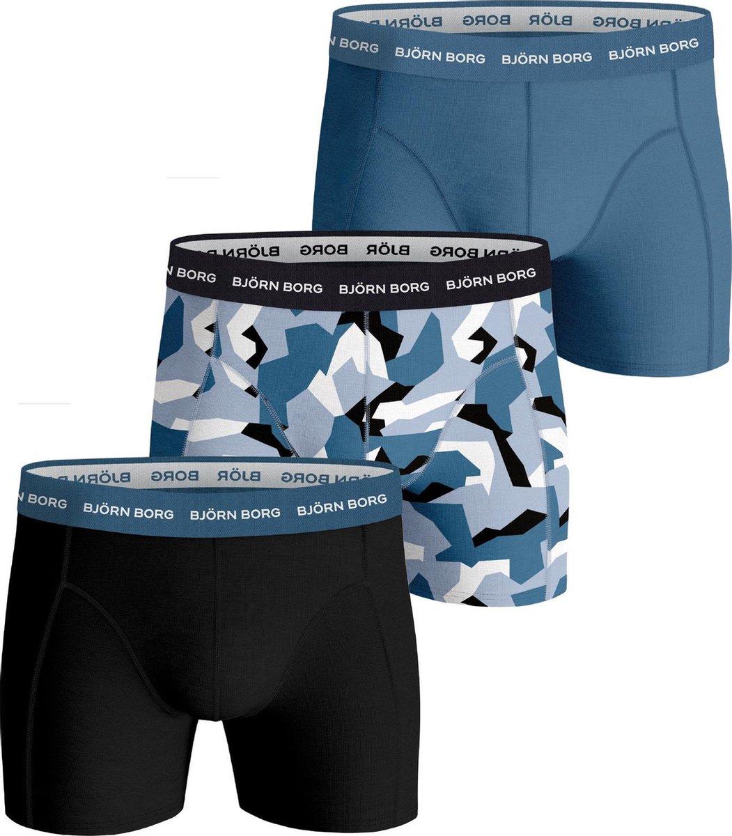 Bj rn Borg Nordic Camo Onderbroek - Mannen - navy/blauw/wit