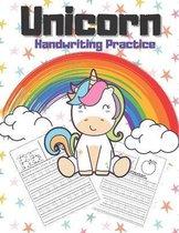 Unicorn Handwriting Practice
