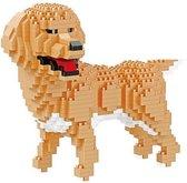 Balody Golden Retriever - Nanoblocks - bouwset / 3D puzzel - 824 bouwsteentjes