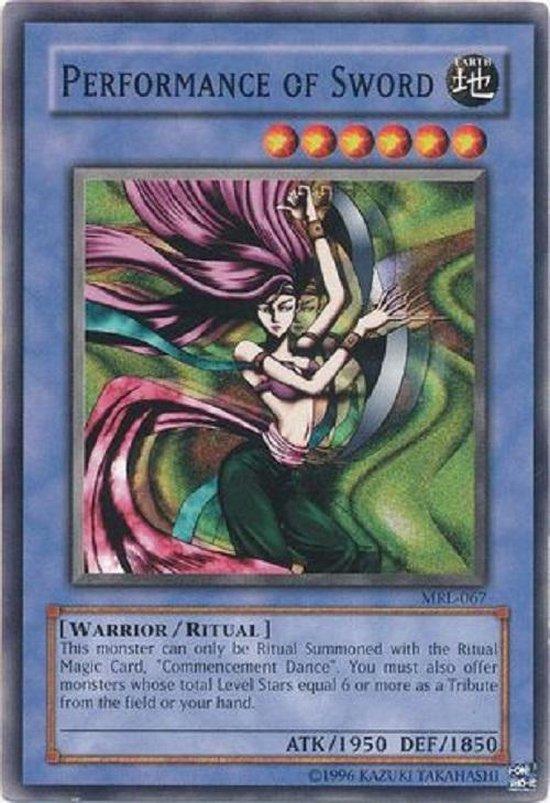 Afbeelding van het spel yu-gi-oh kaart - Performance of Sword - mrl-e067