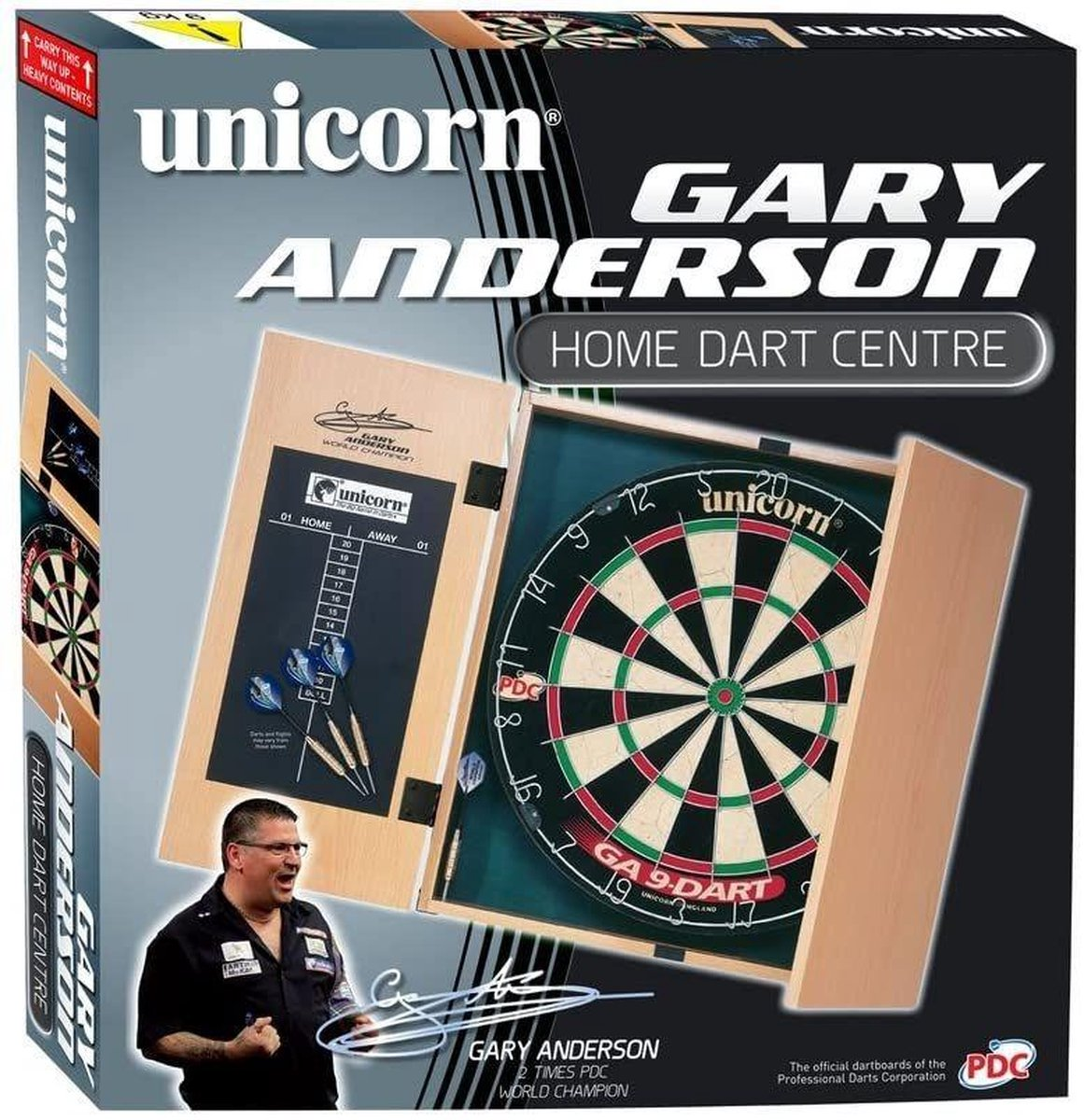 Unicorn Gary Anderson Cabinet Home Darts Centre