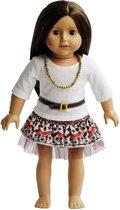 Dolls Vintage Dress Set - Vintage Jurk Set voor 46cm Pop