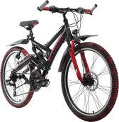 Ks Cycling Fiets ATB 24 '' Crusher kinderfiets - 42 cm