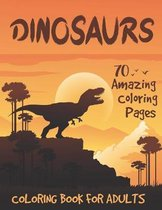 Dinosaurs Coloring book for Adults