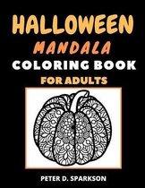 Halloween Mandala Coloring Book For Adults
