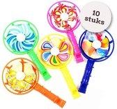 Uitdeelcadeaus windmolen fluitjes (10pcs) - Traktatie - Klein speelgoed - GRATIS Verzending