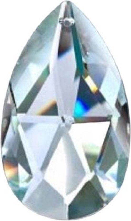 Raamhanger Swarovski Luster 50 mm ( Feng Shui kristal ) Raamkristal , Regenboogkristal
