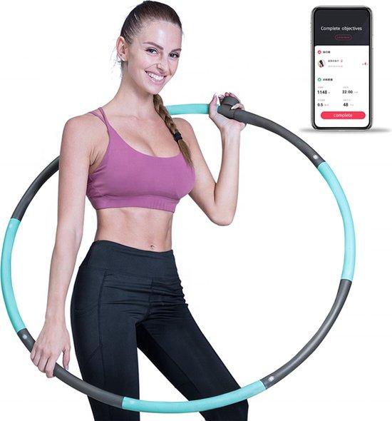 Fitness Hoelahoep voor Kind en Volwassenen - Smart Hoelahoep - met Slimme Sensor en App - Verstelbaar - Sport Hula Hoop - Hoepel - Hoela Hoep