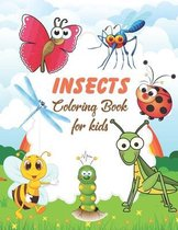 Insects Coloring Book for Kids