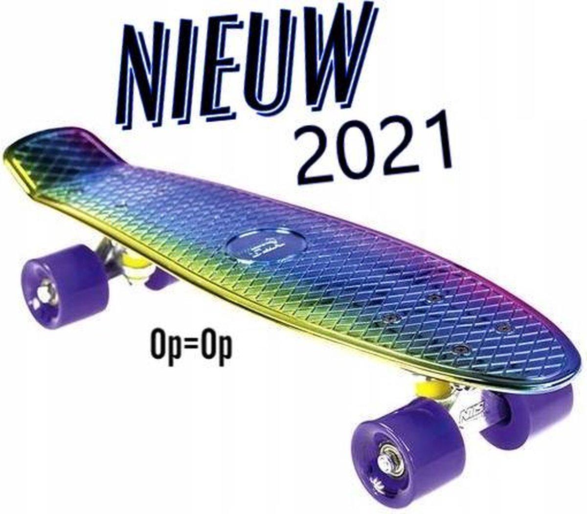 DEMO Model - Merk Nils *Pennyboard* Skateboard * Skaten * Zomer speelgoed.