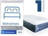 Matrashoes - Matrasbeschermer - Watervast - Eenpersoons - 225x114 cm - Verhuizen - Opslag